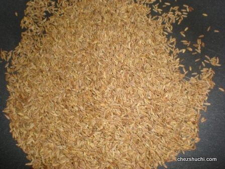 Roasted and Grounded Cumin Seeds