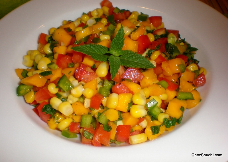 Corn and Mango Salad