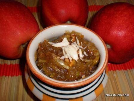 Apple Halwa/ Pudding