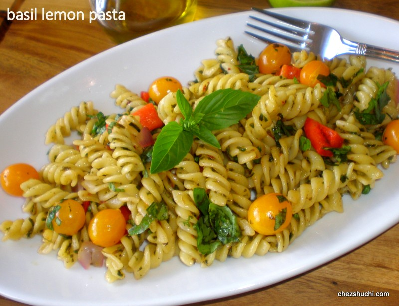 Basil Lemon Pasta