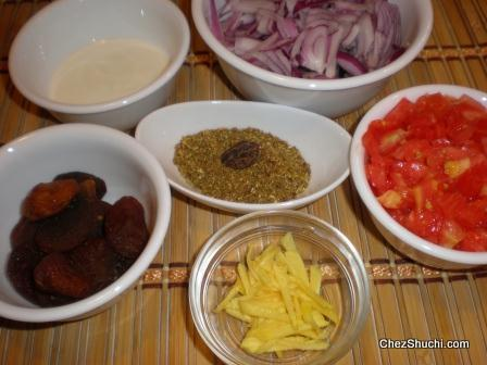 ingredients of Bombay biryani
