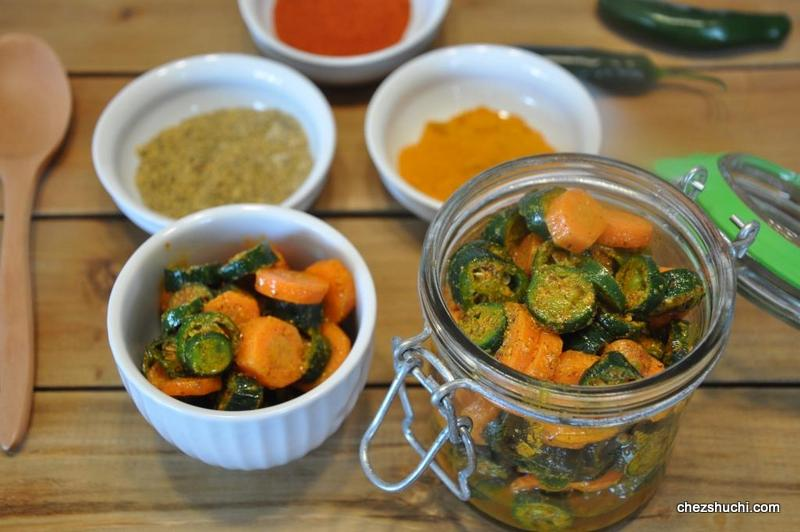 carrot and pepper pickle