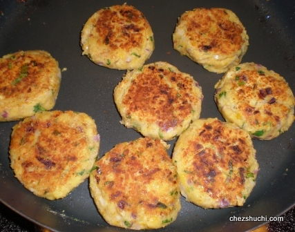 vegetables cutlets