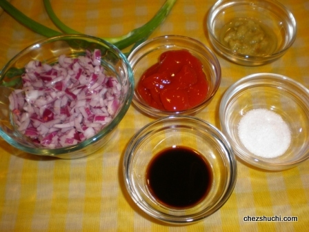 gobhi manchurian sauce ingredients