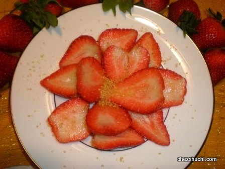 Strawberry Crystals