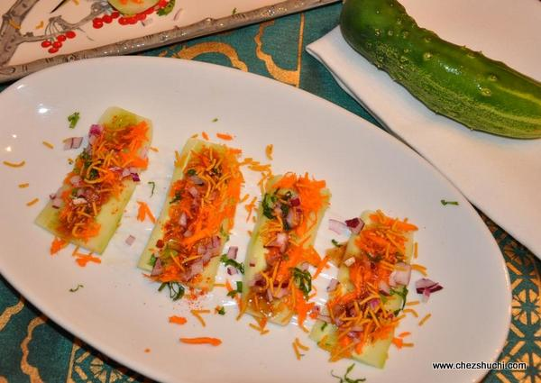 Cucumber Chaat