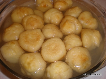 vadas soaked in the saline water