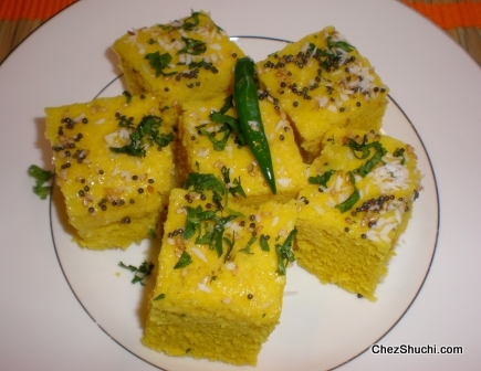 Nylon Dhokla ingredients