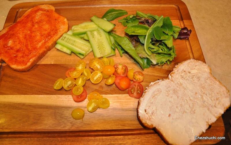 /garden fresh sandwich ingredients