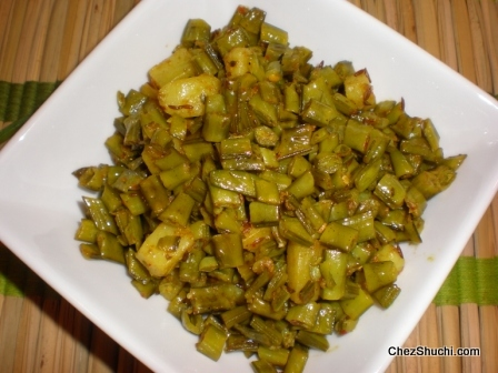 Dry vegetables recipes in english gawar cluster bean forumfinder Image collections