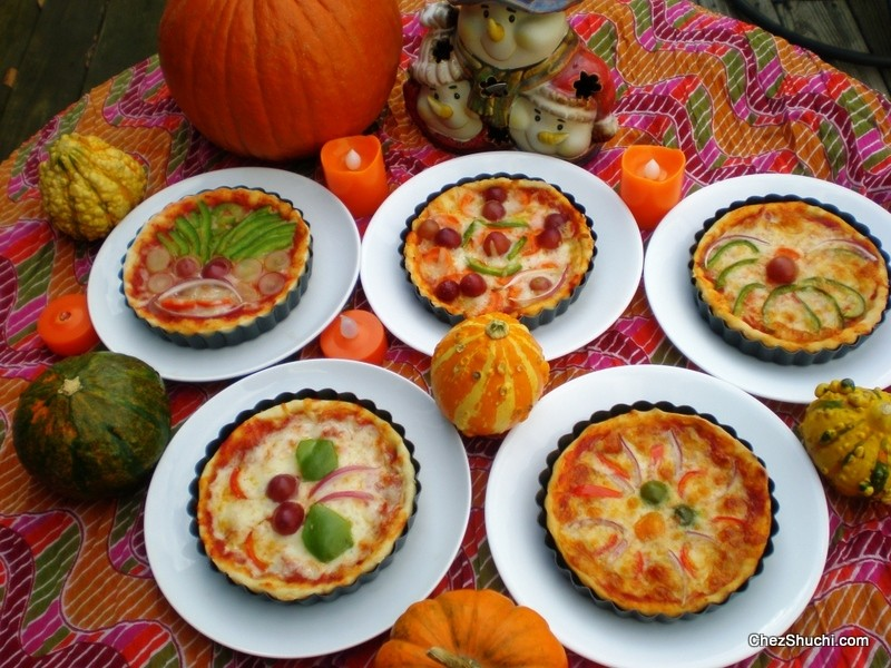 halloween pizza