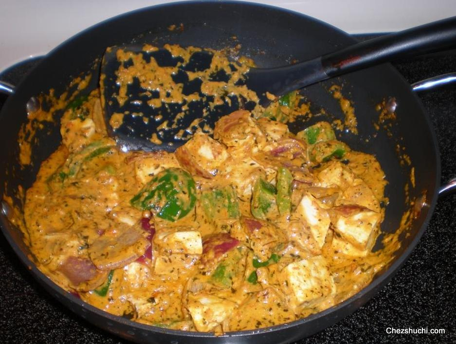 Paneer recipes in english kadahi paneer forumfinder Choice Image