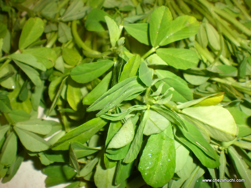 methi leaves