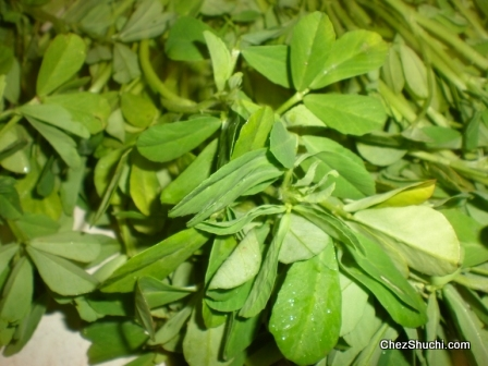 dill/ methi leaves