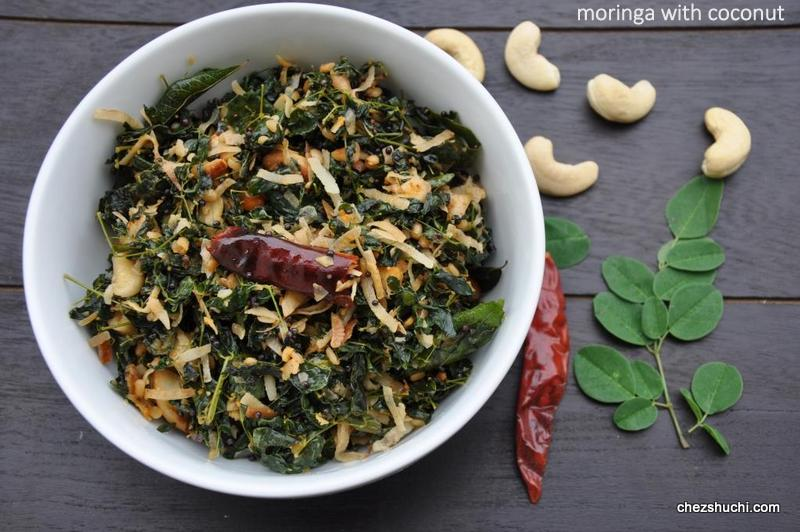 Moringa with Coconut
