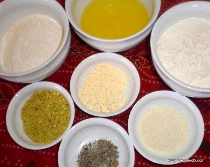 Nan Khatai ingredients