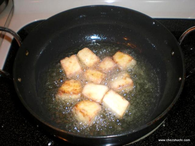 paneer frying after 3 mins