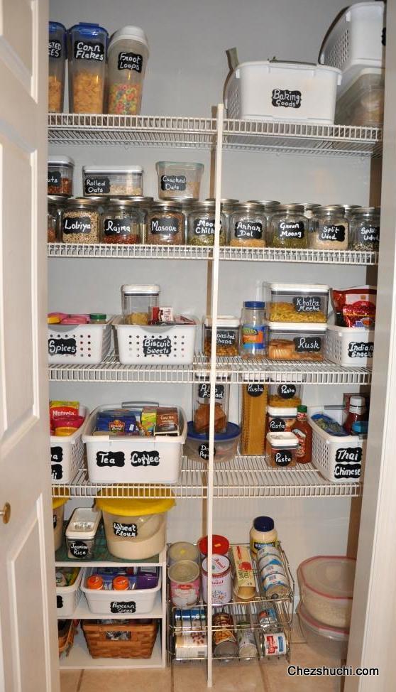 Pantry Organization In Kitchen