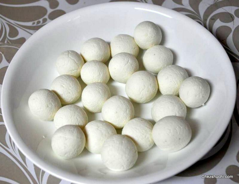 rasgulla making