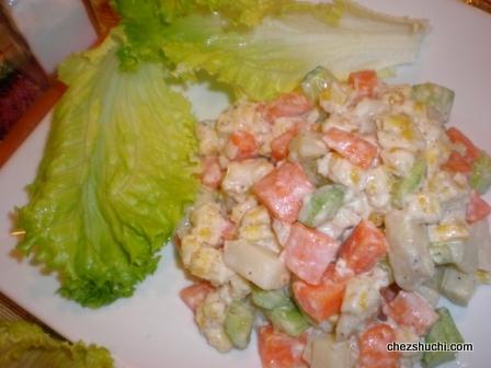 Russian Salad-रूसी सलाद