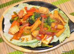 Sizzling Vegetables