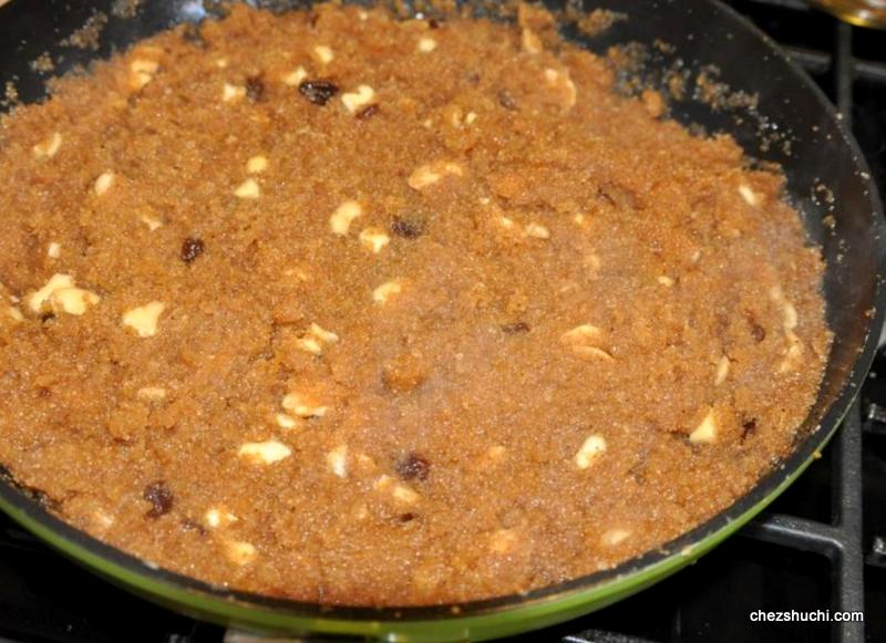 how to make sooji halwa