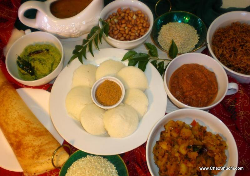 south indian platter