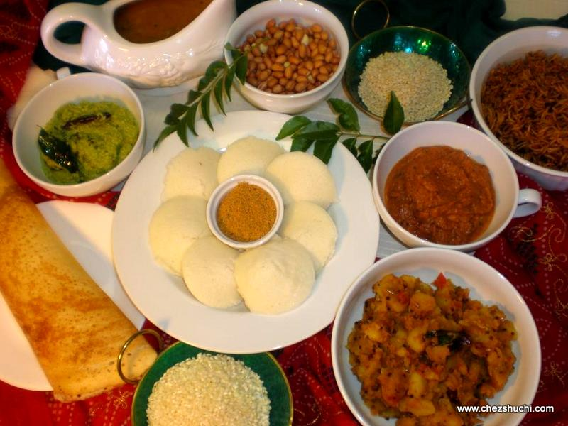 South indian cuisine recipes a south indian platter forumfinder Choice Image