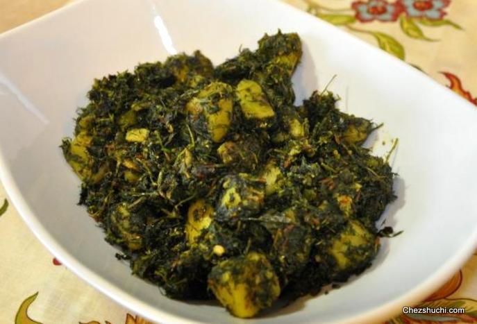 Dry vegetables recipes in english soya methi aloo forumfinder Gallery