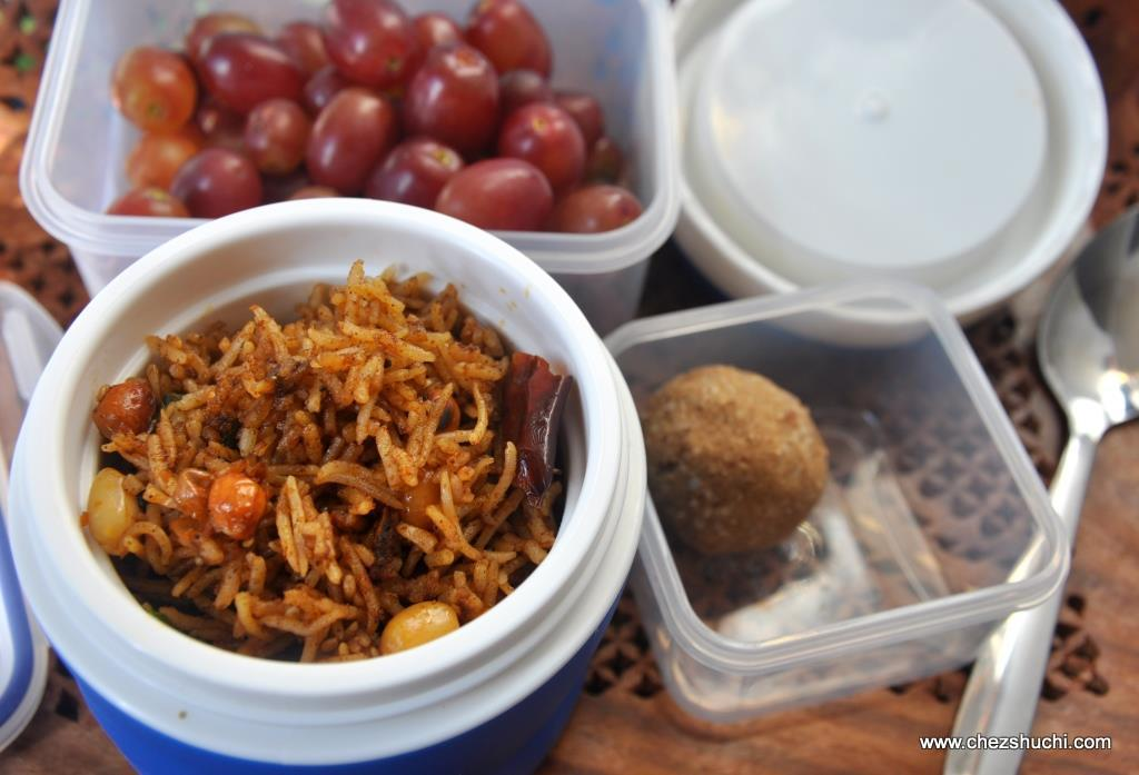 tamarind rice for lunch box