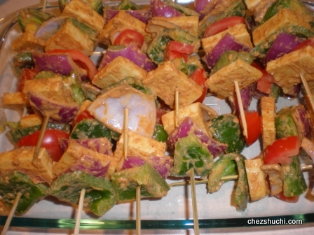 paneer tikka for party