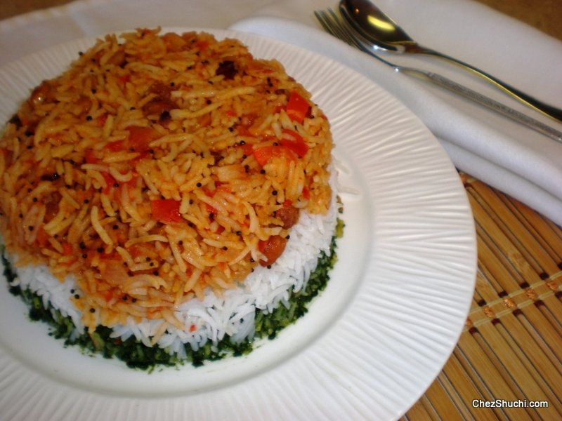 Tri Color Pulav