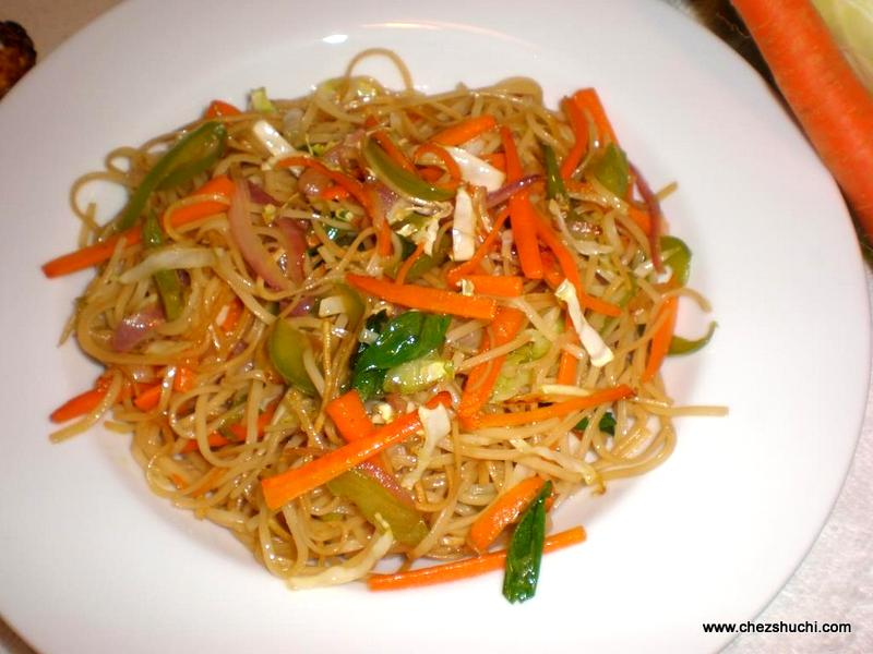 vegetable chowmein